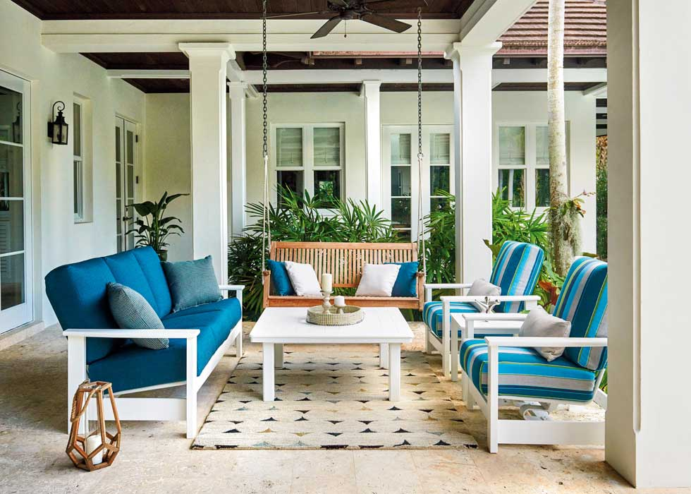A Guide To Modern Outdoor Furniture Materials Bassemiers